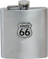 Фляга Hot Leathers Route 66 (150 ml)