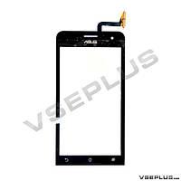 Тачскрин (сенсор) Asus A501CG Zenfone 5, черный