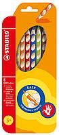Карандаши  6 цветов для правши STABILO EASYcolors290222