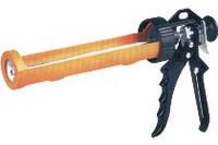 Пистолет для герметика пластмассовый полуоткрытый, металлическая ручка Favorit (12-021) шт.