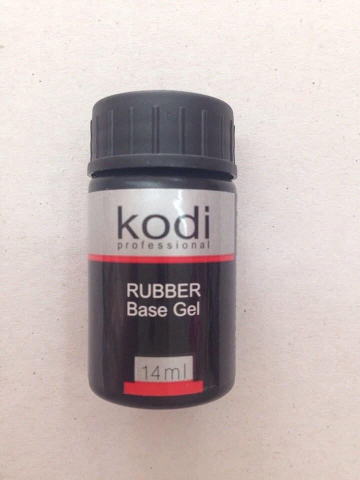 База Kodi Rubber Base Gel гель для лаку, 14 мл