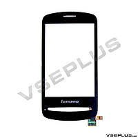 Тачскрин (сенсор) Lenovo A65, черный