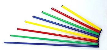 Палка гимнастическая пластик 80 см. Fl-2025-0.8