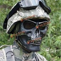Tactical череп скелет полное лицо безопасности маска войны игра Охота костюм партии