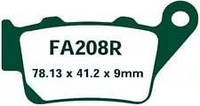 Тормозные колодки EBC FA208R