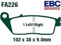 Тормозные колодки EBC FA226HH