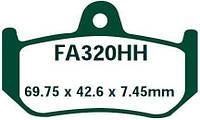 Тормозные колодки EBC FA320HH