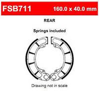 Тормозные колодки Ferodo FSB711