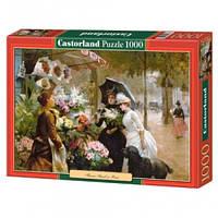 Пазлы Castorland Цветочная лавка 2921, 1000 элементов