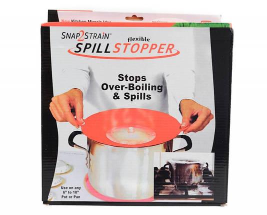 Крышка- невыкипайка силиконовая Spill Stopper, фото 2