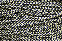 Шнур 5мм с наполнителем (100м) т.синий+желтый, фото 1