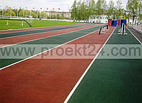 Напольные покрытия для спортзалов, площадок, теннисных кортов, беговых дорожек, детских площадок…