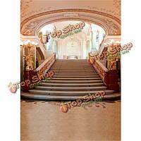 5x7ft 1.5x2.1m красоты великолепный свадебный дворец фотографии фон винил ткань фон, фото 1