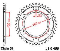 Звезда задняя JT JTR499.40