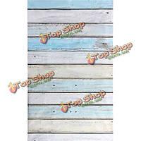 0.9м х 1.5м деревянная стена пол винил фотостудия фон реквизита фон