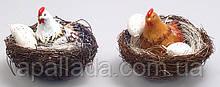 Декоративная свеча Курочка в гнезде