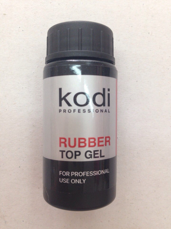 Kodi Rubber Top Gel Верхнє покриття для гель лаку 22 мл