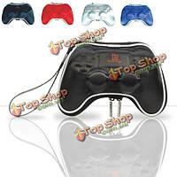 Карман защитный чехол аксессуар для PS4 контроллера геймпад жесткий сумка с ручной ремешок 4-х цветов