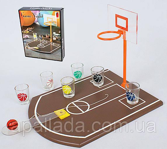 Настольная игра Баскетбол питейный