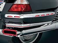 """Молдинги боковых кофров с светодиодной подсветкой красного цвета GL1800 """"01-10"""