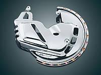 Светодиодные накладки колпаков переднего колеса Kuryakyn GL1800 & F6B с подсветкой янтарного цвета