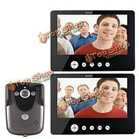 Sy905fc12 видео домофон дверной звонок Интерком комплект 900tvl IR ночного видения 1-камера 9-дюймов TFT ЖК-монитор 2-