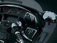"""Хромированные накладки Kuryakyn на передние динамики GL1800 """"06-14 & F6B"""