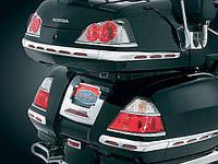 "Хромированные накладки Kuryakyn на фонари боковых кофров GL1800 ""06-10"