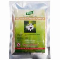 Качур сугандхи, песочный имбирь, Kachur Sugandhi Powder, 100 гр