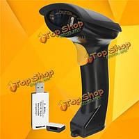 2.4g беспроводной ручной лазерный штрих-код сканирования штрих-кода беспроводной сканер для чтения этикетки пистолет поз