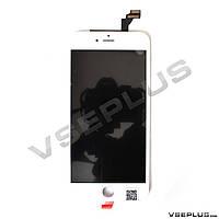 Дисплей (экран) Apple iPhone 6 Plus, белый, с сенсорным стеклом