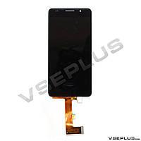 Дисплей (экран) Huawei H60-L02 Honor 6, черный, с сенсорным стеклом