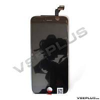 Дисплей (экран) Apple iPhone 6 Plus, черный, с сенсорным стеклом