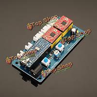 2 оси плата контроллера Драйвер шагового двигателя лазера доски для поделок лазерного гравера