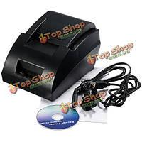 12v USB Mini 58мм POS ESC Термальный чековый принтер установлен точка 384 линии с рулонной бумаги