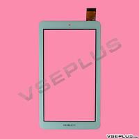 Тачскрин (сенсор) под китайский планшет FM707101KD, TYF1176V3, 0195-BLX, BSR043FPC, HS1275, белый, 6.8 inch