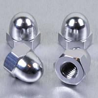 Алюминиевая колпачковая гайка Pro-Bolt M8 (Din1587), серебр.