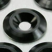 Алюминиевая коническая шайба Pro-Bolt M5 (19mm OD), серебр.