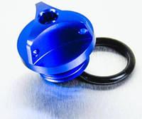 Алюминиевая крышка горловины залива масла Pro Bolt Honda синий