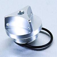 Алюминиевая крышка горловины залива масла Pro Bolt Kawasaki серебр.