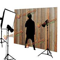 5x7ft 2.1x1.5m ретро деревянные стены тема ткань фон фотографии студии проп фон