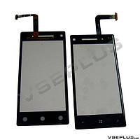 Тачскрин (сенсор) HTC C620e Windows Phone 8X, черный