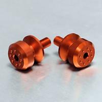 Алюминиевые втулки в маятник Pro-Bolt M10 x 1,25mm(пара), оранжевые