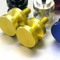 Алюминиевые втулки в маятник Pro-Bolt M6 (пара), золотые