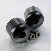 Алюминиевые наконечники руля Pro-Bolt на Honda 10 (пара), черные