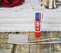 Зубной набор одноразовый (щетка с пастой) для гостиниц
