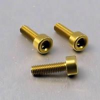 Алюминиевый болт Pro-Bolt M4 x (0,7mm) x 10mm, золотой