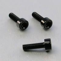 Алюминиевый болт Pro-Bolt M4 x (0,7mm) x 20mm, черный