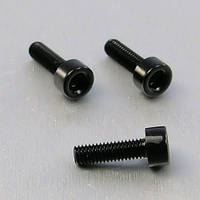 Алюминиевый болт Pro-Bolt M5 x (0,8mm) x 12mm, черный