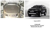 Защита двигателя  Mitsubishi Pajero Sport 2008-V-всі